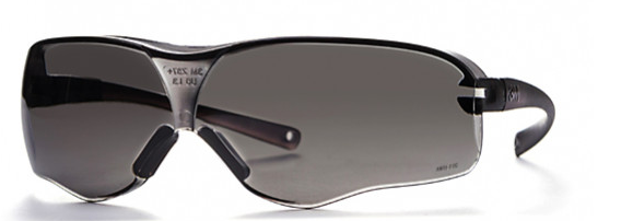 3M Polycarbonate Safety Glasses with Grey Tinted Lens - Rc Kavala Acro Team