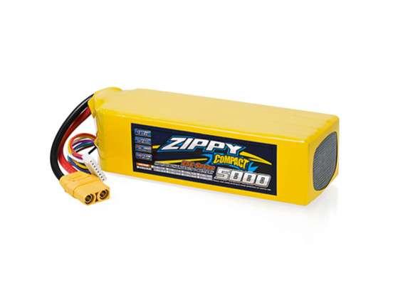 ZIPPY Compact 5000mAh 7S 25C Lipo Pack w/ XT90 - RC Kavala Acro Team