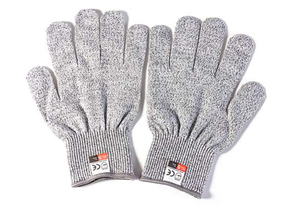High Performance Anti-Cut Gloves HPPE Level 5 Protection - RC Kavala Acro Team