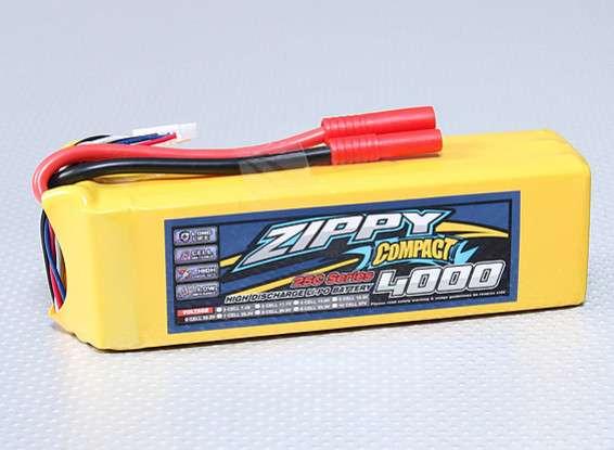 ZIPPY Compact 4000mAh 6S 25C Lipo Pack - RC Kavala Acro Team