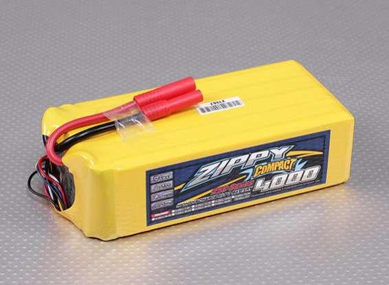 ZIPPY Compact 4000mAh 10S 25C Lipo Pack - RC Kavala Acro Team