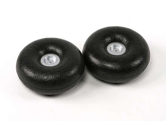 Styrofoam wheels - RC Kavala Acro Team