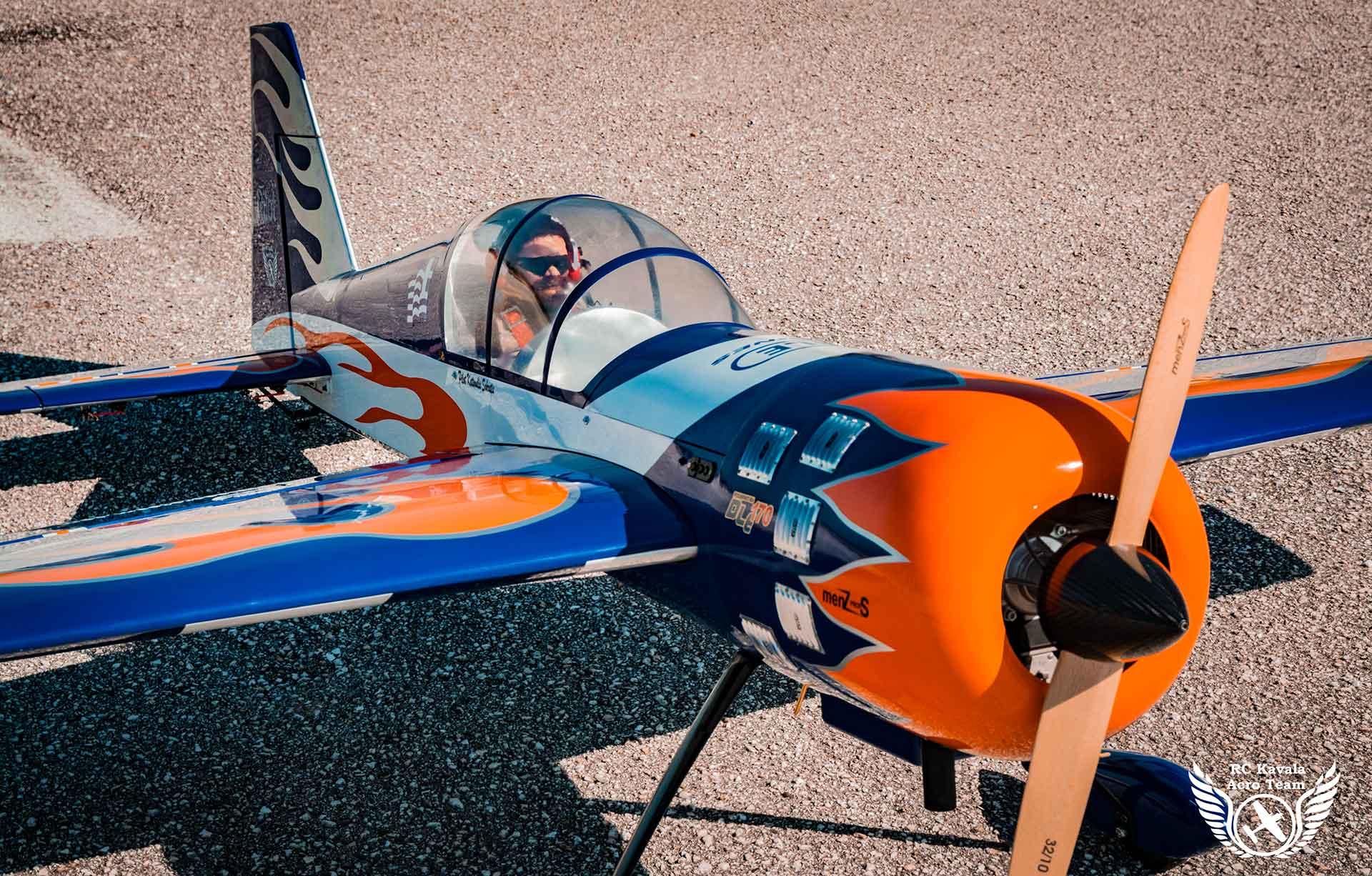 RC Kavala Acro Team - Yak54 Pilot RC